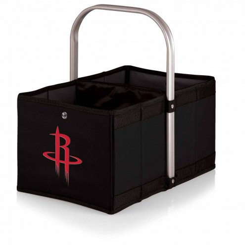 Houston Rockets Black Urban Picnic Basket