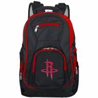 NBA Houston Rockets Colored Trim Premium Laptop Backpack