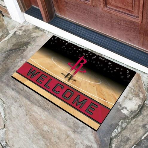 Houston Rockets Crumb Rubber Door Mat