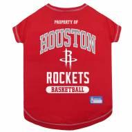 Houston Rockets Dog Tee Shirt