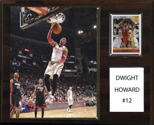 "Houston Rockets Dwight Howard 12"" x 15"" Player Plaque"