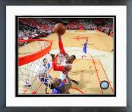 Houston Rockets Dwight Howard Playoff Action Framed Photo