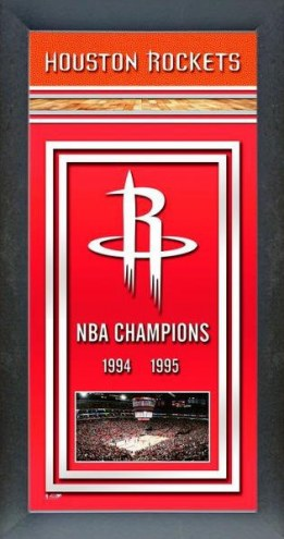 Houston Rockets Framed Championship Print
