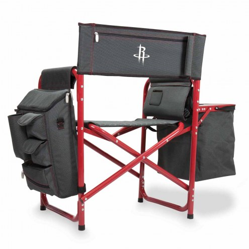 Houston Rockets Gray/Red Fusion Folding Chair