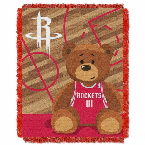 Houston Rockets Half Court Baby Blanket