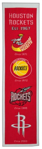 Houston Rockets Heritage Banner