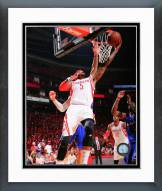 Houston Rockets Josh Smith 2015 Playoff Action Framed Photo