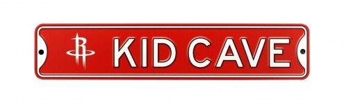Houston Rockets Kid Cave Street Sign