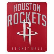 Houston Rockets Layup Fleece Blanket