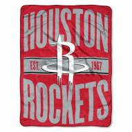 Houston Rockets Micro Raschel Throw Blanket