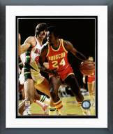 Houston Rockets Moses Malone 1977 Action Framed Photo