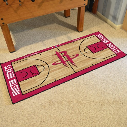 Houston Rockets NBA Court Large Runner