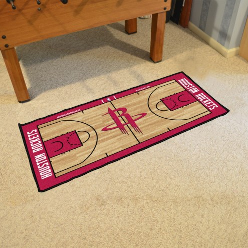Houston Rockets NBA Court Runner Rug
