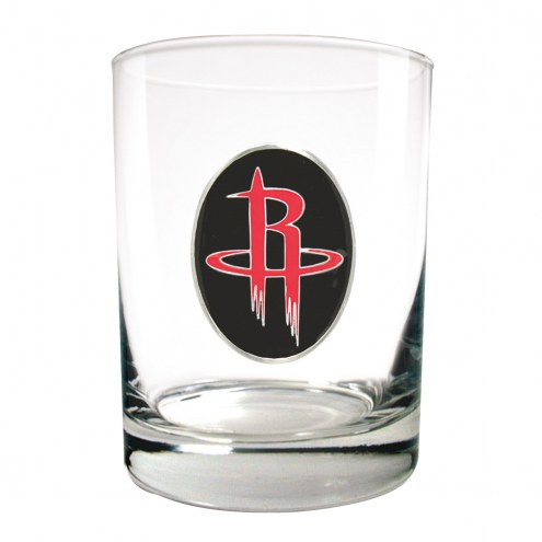 Houston Rockets NBA 2-Piece 14 Oz. Rocks Glass Set