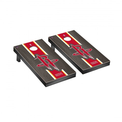 Houston Rockets Onyx Stained Cornhole Game Set