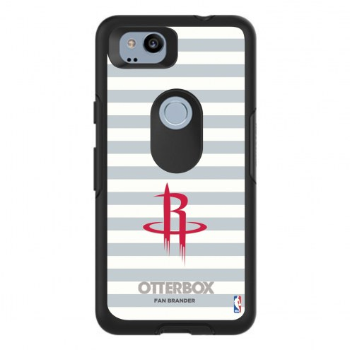 Houston Rockets OtterBox Google Pixel 2 Symmetry Stripes Case