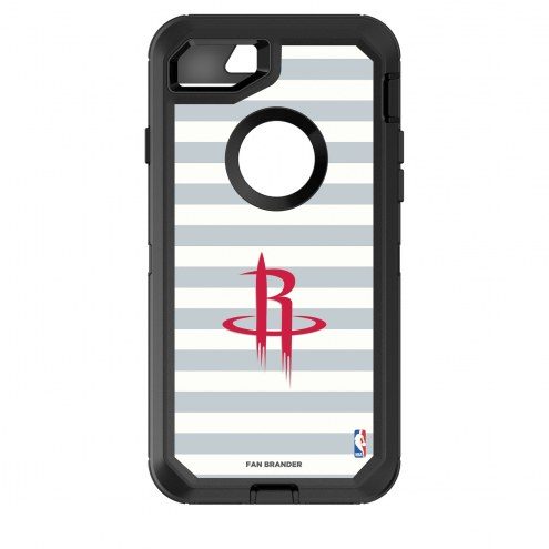 Houston Rockets OtterBox iPhone 8/7 Defender Stripes Case