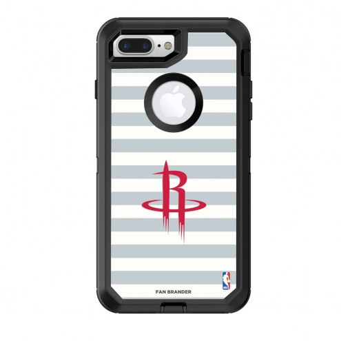 Houston Rockets OtterBox iPhone 8 Plus/7 Plus Defender Stripes Case