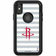 Houston Rockets OtterBox iPhone X/Xs Defender Stripes Case