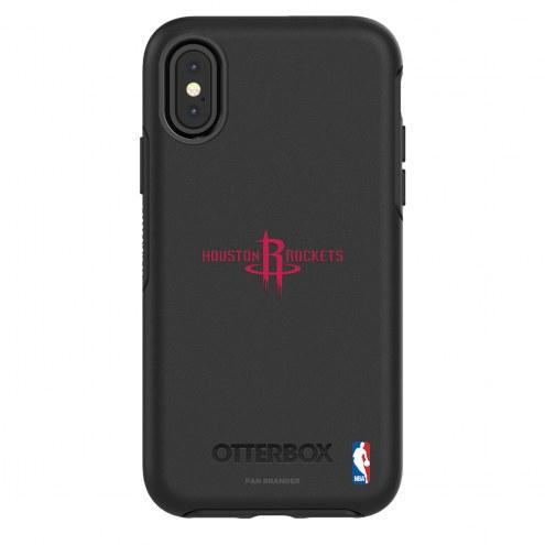 Houston Rockets OtterBox iPhone X/Xs Symmetry Black Case