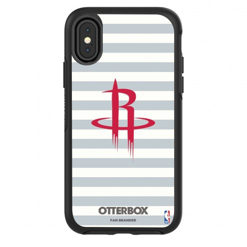 Houston Rockets OtterBox iPhone X/Xs Symmetry Stripes Case