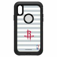 Houston Rockets OtterBox iPhone XR Defender Stripes Case