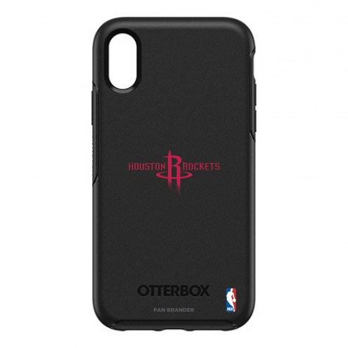Houston Rockets OtterBox iPhone XR Symmetry Black Case