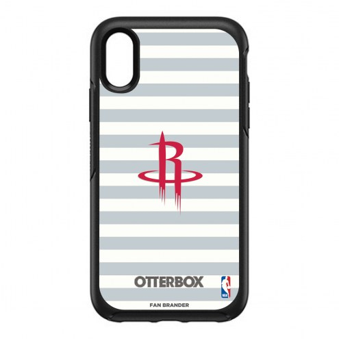Houston Rockets OtterBox iPhone XR Symmetry Stripes Case