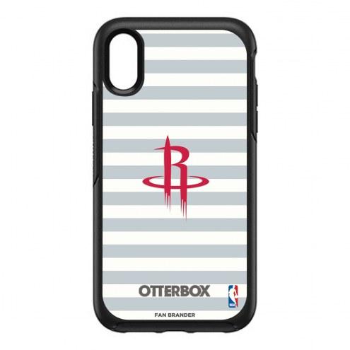 Houston Rockets OtterBox iPhone XR Symmetry Stripes Case