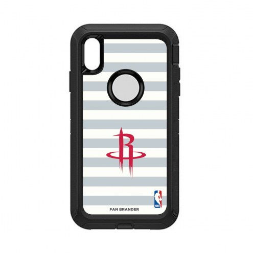Houston Rockets OtterBox iPhone XS Max Defender Stripes Case