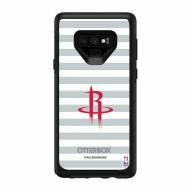 Houston Rockets OtterBox Samsung Galaxy Note9 Symmetry Stripes Case