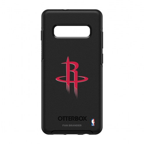 Houston Rockets OtterBox Samsung Galaxy S10+ Symmetry Black Case