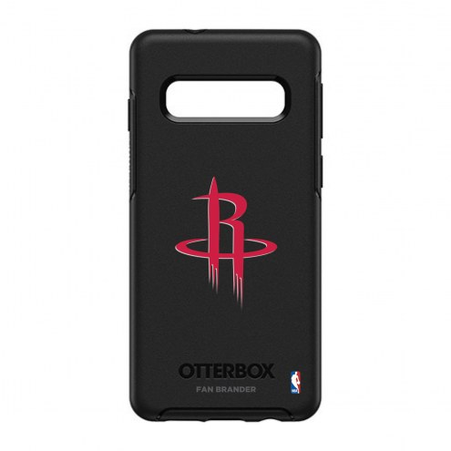 Houston Rockets OtterBox Samsung Galaxy S10 Symmetry Black Case