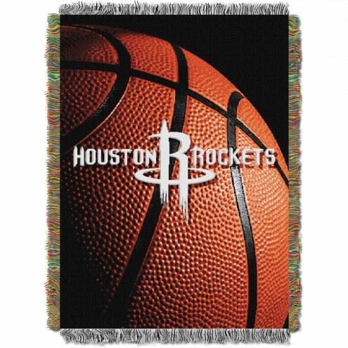 Houston Rockets Photo Real Throw Blanket