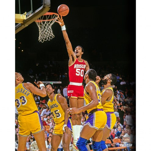 "Houston Rockets Ralph Sampson Layup Signed 16"" x 20"" Photo"