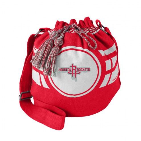 Houston Rockets Ripple Drawstring Bucket Bag