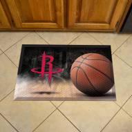 Houston Rockets Scraper Door Mat