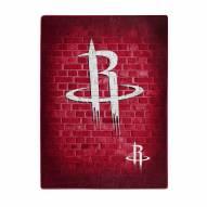 Houston Rockets Street Raschel Throw Blanket