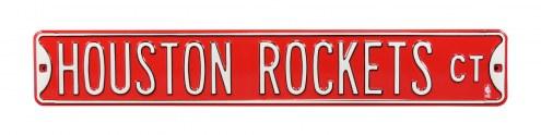 Houston Rockets Street Sign