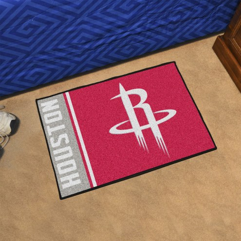 Houston Rockets Uniform Inspired Starter Rug