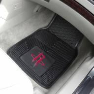 Houston Rockets Vinyl 2-Piece Car Floor Mats