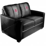 Houston Rockets XZipit Silver Loveseat
