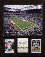 """Houston Texans 12"""" x 15"""" Stadium Plaque"""