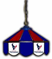 "Houston Texans 14"" Glass Pub Lamp"