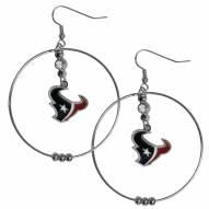 """Houston Texans 2"""" Hoop Earrings"""