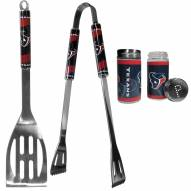 Houston Texans 2 Piece BBQ Set with Tailgate Salt & Pepper Shakers