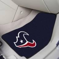 Houston Texans 2-Piece Carpet Car Mats