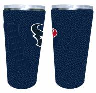 Houston Texans 20 oz. Stainless Steel Tumbler with Silicone Wrap
