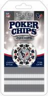 Houston Texans 20 Piece Poker Chips Set
