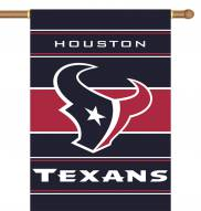 "Houston Texans 28"" x 40"" Two-Sided Banner"